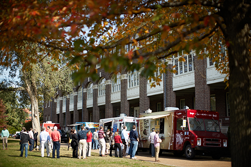 Lunch Truck Lineup on Thursdays at the Marine Parade Grounds (photo credit: Michael Spain-Smith)