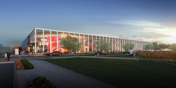 Axalta's Global Innovation Center is designed by Erdy McHenry Architecture.