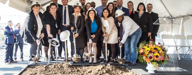 Groundbreaking of WuXi AppTec's 4th Navy Yard Facility
